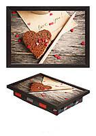 Поднос на подушке Мини Сердешное печенье