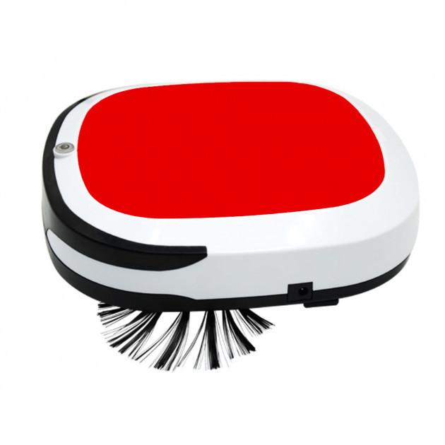 Беспроводной мощный робот пылесос 6 в 1 iCleaner 3D 16001 влажная уборка красный