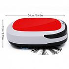 Беспроводной мощный робот пылесос 6 в 1 iCleaner 3D 16001 влажная уборка красный, фото 2