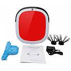 Беспроводной мощный робот пылесос 6 в 1 iCleaner 3D 16001 влажная уборка красный, фото 4