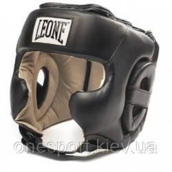 Боксерський шолом Leone Training Black M (код 168-414790)