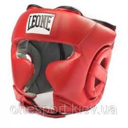 Боксерський шолом Leone Training Red L (код 168-414791)