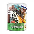 Набор фигурок Дикие животные 16 шт. Оригинал Wing Crown D33703, фото 2