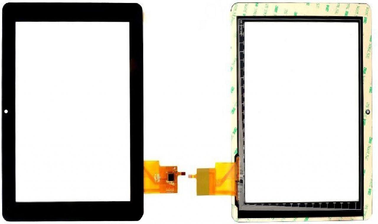 Сенсор для планшета (тачскрін) GoClever TAB R974.2 (239x183, 6 pin, #PB97DR8185) Black