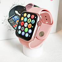 Новинка 2021 года, Смарт часы HiWatch 16 с функцией пульсоксиметра - (Розовые)