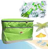 Сумка-холодильник для еды Термосумка Cooling Bag DT-4246 обьем 25л термобокс холодильник сумка-термос, фото 6