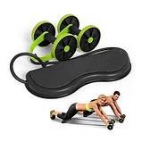 Колесо для фитнеса revoflex xtreme / Тренажер Revoflex Xtreme с 6-ю уровнями тренировки, фото 6