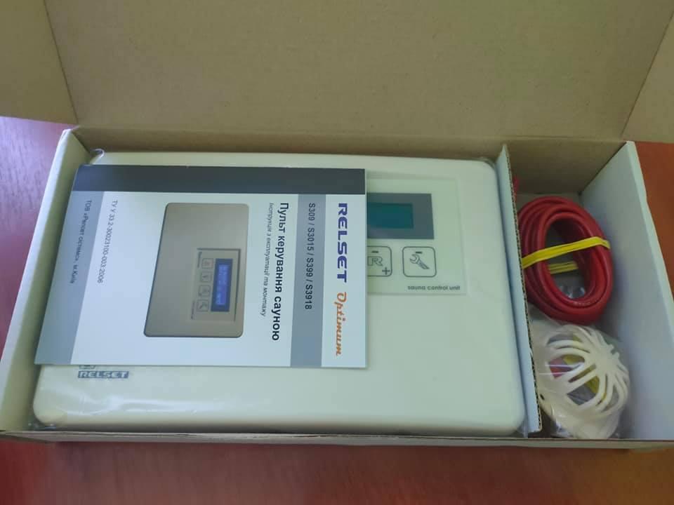 Пульты управления сауной для электрокаменок  RELSET S3918 (27 кВт)