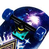 Скейт дерев'яний, Скейтборд, натуральний канадський клен, для трюків, Fish Skateboards - UFO-EYE, преміум!!!, фото 3