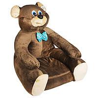 Детское мягкое кресло Boxi Мишка 74х60х60 см