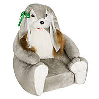 Детское мягкое кресло Boxi Зайка 74х60х60 см