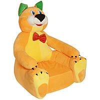 Детское мягкое кресло Boxi Котик 74х60х60 см