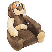 Детское мягкое кресло Boxi Пёсик 74х60х60 см
