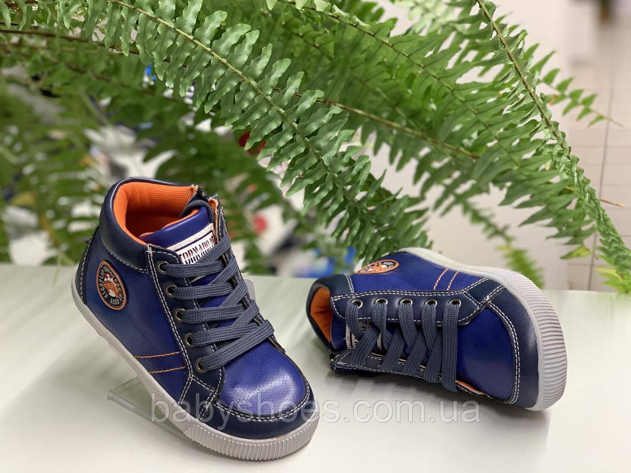 Демисезонные ботинки для мальчика C.Луч р.26-31,  ДМ-85