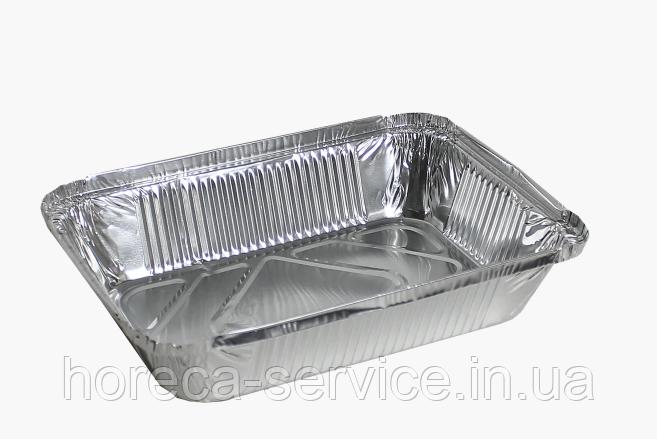 Контейнер из пищевой фольги 430 мл. 144х119х40 SP24L
