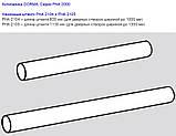Антипаника Dorma PHA 2000 для 2-створчатой штульповой двери с 3-точечным запиранием без внешней ручки, фото 5
