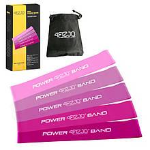 Набор резинок 4FIZJO Mini Power Band 5 шт 1-20 кг