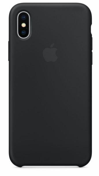 Чехол Apple Silicone Case iPhone XS Black_High Copy