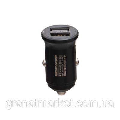 Авто Зарядное Устройство Remax Rcc 222 4.8A Цвет Чёрный