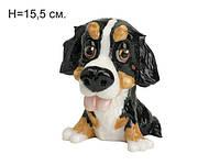 Фигурка песик Bernie (бернский зенненхунд) 15,5 см - замечательный подарок