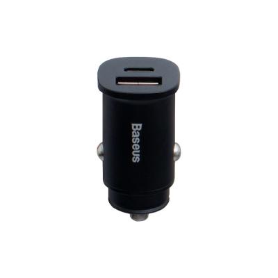 Авто Зарядное Устройство Baseus CCALL-AS PD3.0/QC4.0/PPS 30W Max Цвет Чёрный, 01