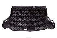 Коврик в багажник для Daewoo Lanos / Sens (ЗАЗ Ланос Сенс) седан, резино-пластиковый (Lada Locker)