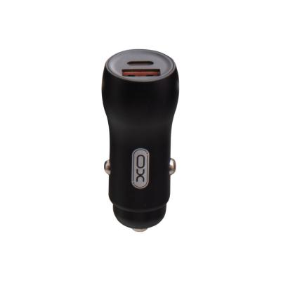 Авто Зарядное Устройство XO CC-20 PD Type-C QC3.0 36W Цвет Чёрный
