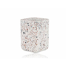 Стакан для зубных щеток Irya - Mozaik beyaz белый