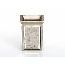 Стакан для зубных щеток Irya - Mirror bronz бронзовый