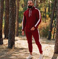 Спортивный костюм мужской трикотаж демисезонный весна-осень Турция. Живое фото. Чоловічий спортивний костюм