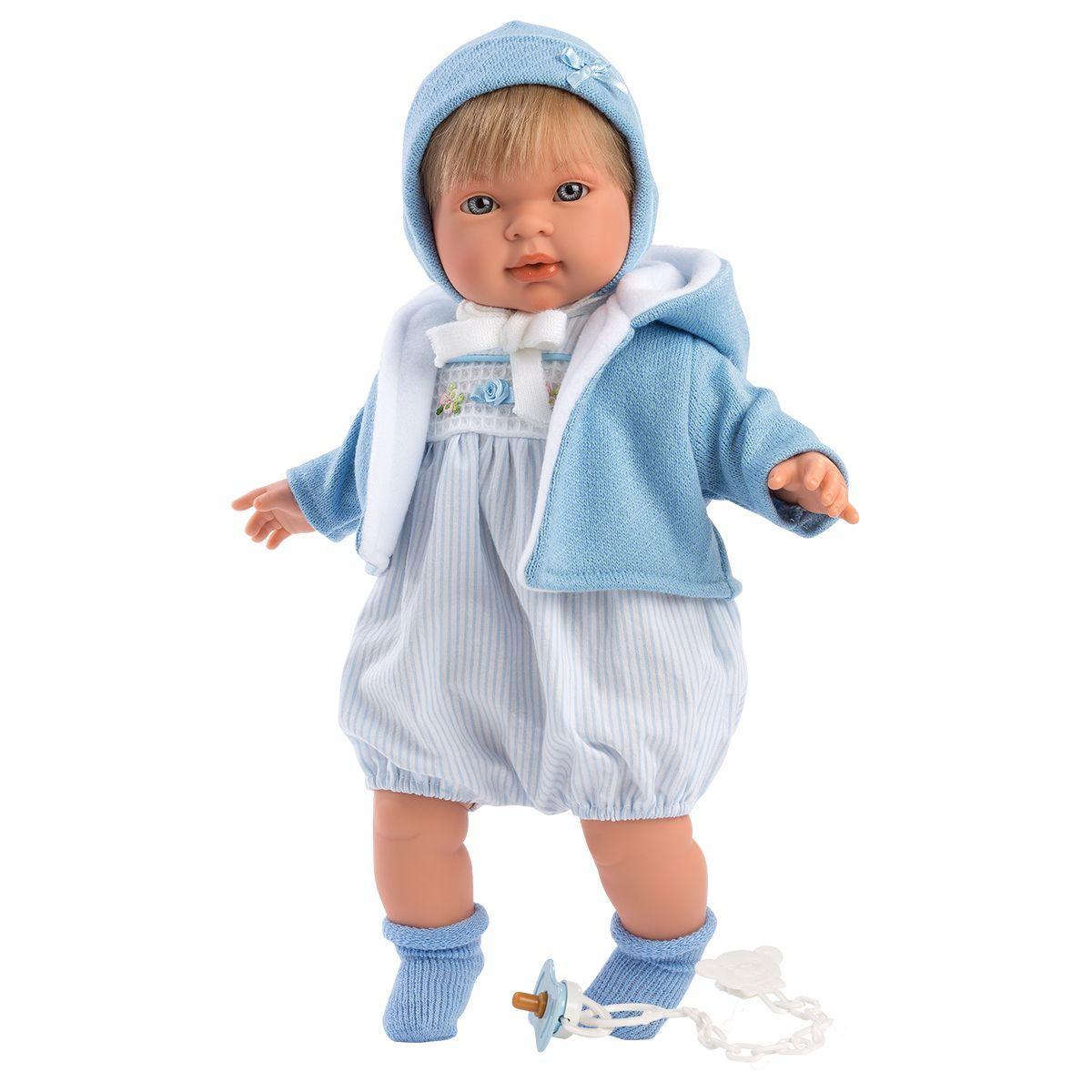 Интерактивная плачущая кукла, 42 см, Мигель, Llorens 42153