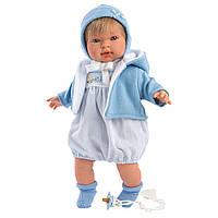 Интерактивная плачущая кукла, 42 см, Мигель, Llorens 42153, фото 1