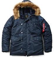 Чоловіча куртка аляска Alpha Industries N-3B Parka MJN31000C1 (Replica Blue)