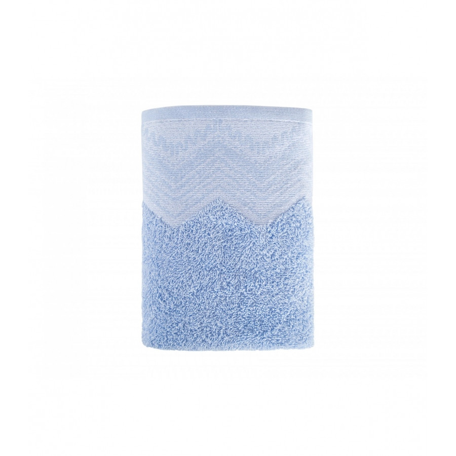 Рушник Irya Jakarli - New Leron mavi блакитний 70*130