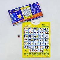 """Плакат 7002 """"Букварёнок"""" Play Smart (12/2) русский алфавит, музыкальный, в коробке"""