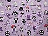 Постельное бельё, бязь GOLD, евро комплект,  совы на фиолетовом, фото 2
