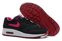 Кроссовки женские Nike Air Max 87 (в стиле найк аир макс) черные