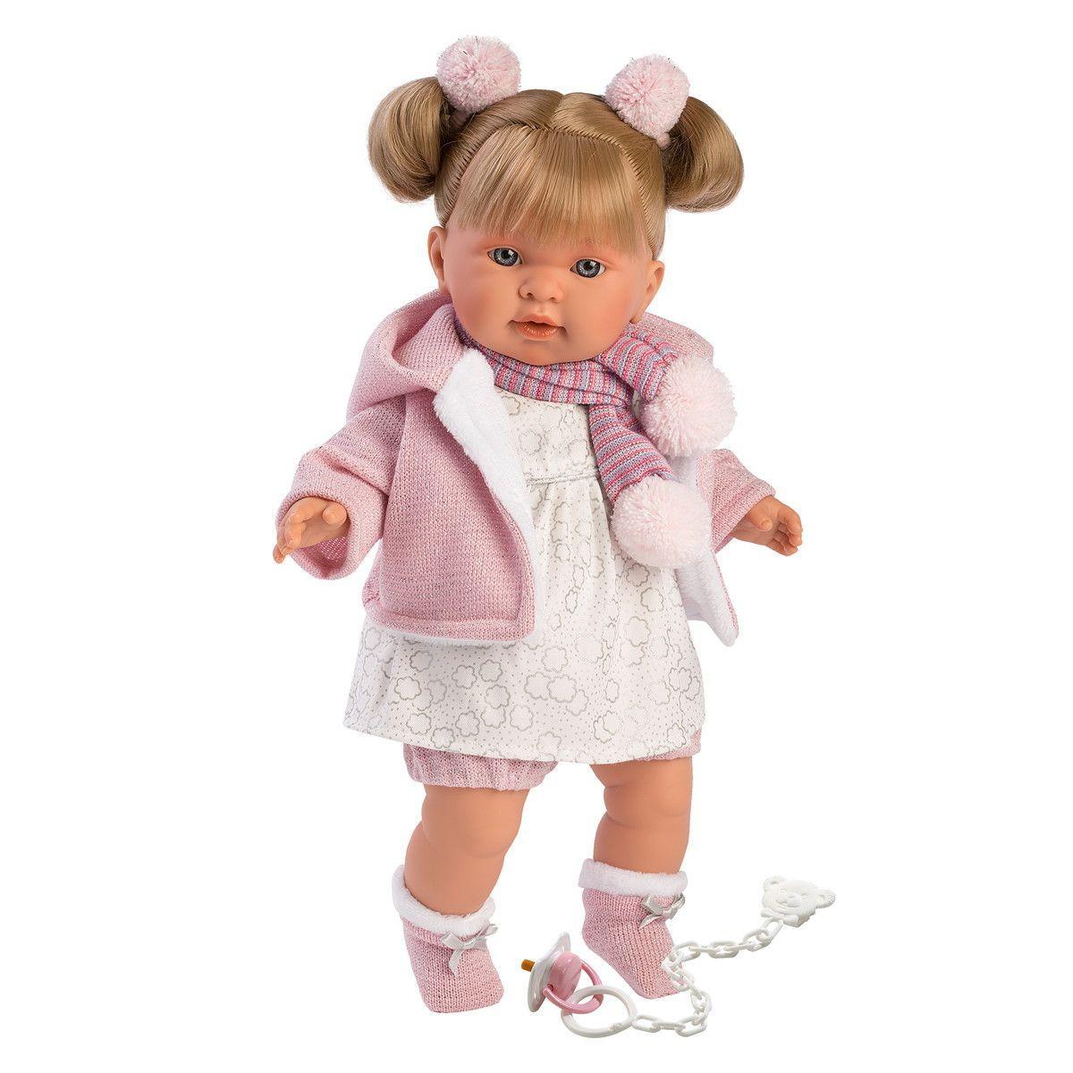 Интерактивная плачущая кукла, 42 см, Александра, Llorens 42262