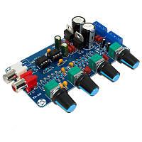 NE5532 Стерео передпідсилювач, темброблок