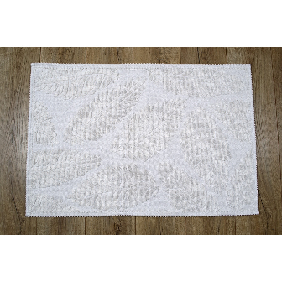 Набор ковриков Irya - Levin ekru кремовый 60*90+40*60
