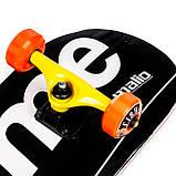 Скейт деревянный, Скейтборд, натуральный канадский клен, для трюков, Fish Skateboards Supreme black премиум!, фото 2