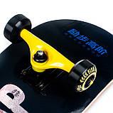 Скейт деревянный, Скейтборд, натуральный канадский клен, для трюков, Fish Skateboards Firstleap премиум!, фото 2
