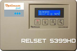 Пульты управления  RELSET S399HD для электрокаменки з пароиспарителем ( 9кВт)