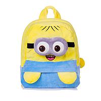 Рюкзак плюшевый миньон, дошкольный