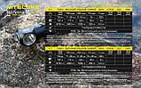 Nitecore HC33 1800LM Мощный Налобный и ручной фонарь с магнитом + Диффузор, фото 9