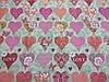 Постельное бельё Бязь GOLD Двуспальный с европростынью комплект (сердечки), фото 2