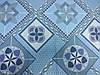 Постельное бельё Бязь GOLD Полуторный комплект (голубые узоры абстракция), фото 2