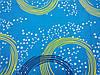Постельное бельё Бязь GOLD Двуспальный с европростынью комплект (круги на голубом фоне), фото 2