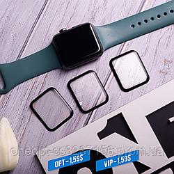 Захисне скло для Apple Watch Series 6 44mm Black