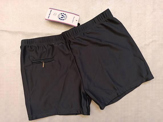 Шорты-плавки мужские SAMEGAME 29311 черный  (есть  56 58 60 62 64   размеры), фото 2